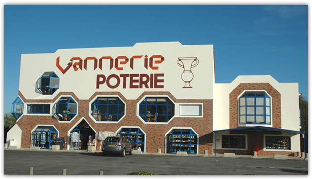 Vannerie poterie